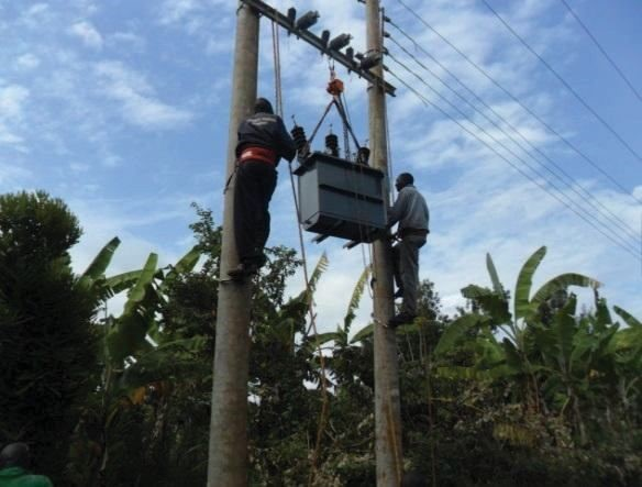 Installation of Transformers and Line Commissioning